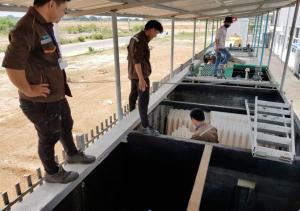 Nước thải xi mạ 50m3 Hanyoung Vina- Vũng Tàu