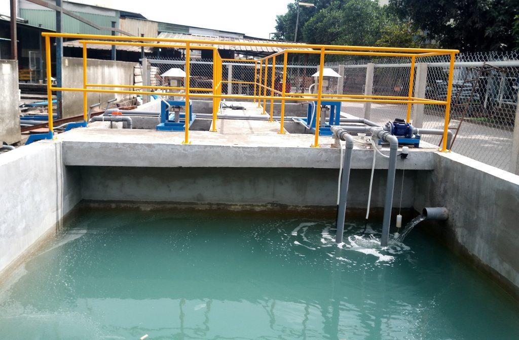 Xử lý nước thải sinh hoạt kết hợp nước thải sản xuất