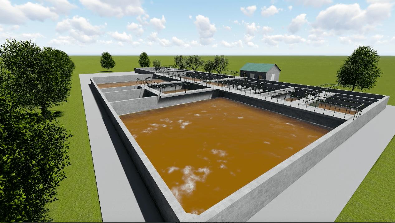 Xử lý nước thải cao su