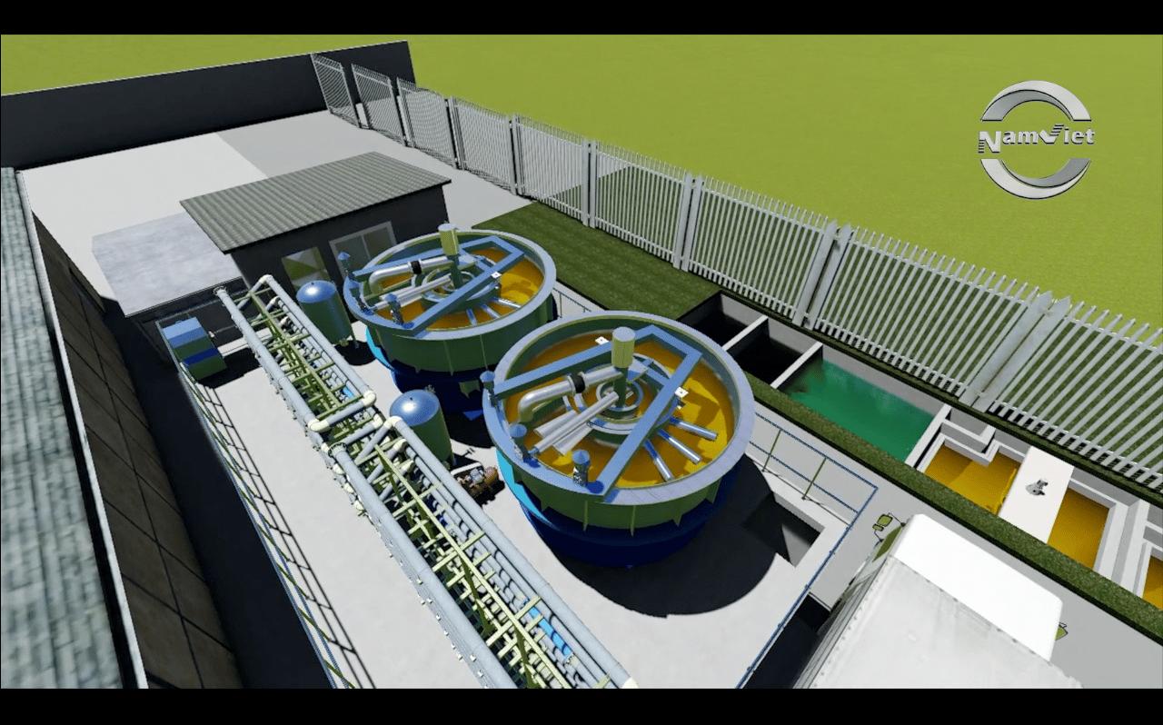xử lý nước thải chế biến thủy sản