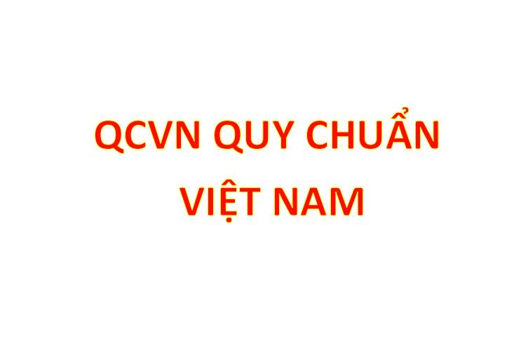 QCVN Quy chuẩn Việt Nam
